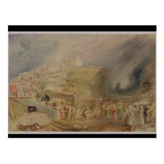Carte Postale Colline de St Catherine, Guildford, Surrey, 1830