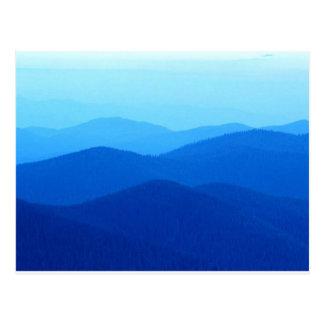 Carte Postale Collines bleues