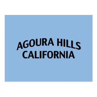 Carte Postale Collines la Californie d'Agoura