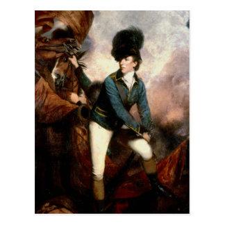 Carte Postale Colonel Banastre Tarleton 1782