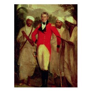 Carte Postale Colonel Colin le Mackenzie et ses sages indiens