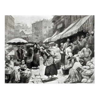 Carte Postale Colonie italienne de courbure de mûre à New York