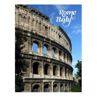 Carte Postale Colosseum à Rome Italie