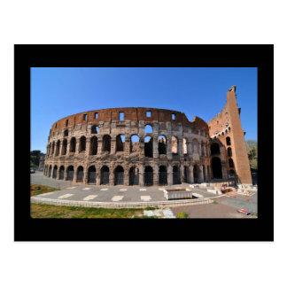 Carte Postale Colosseum à Rome, Italie