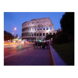 Carte Postale Colosseum la nuit