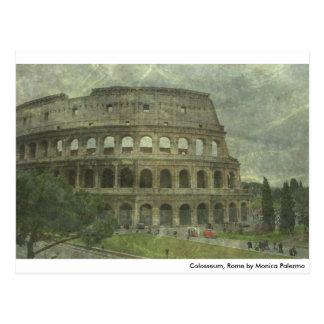 Carte Postale Colosseum, Rome