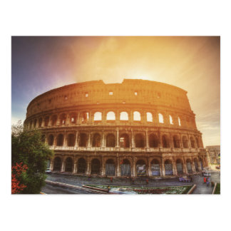 Carte Postale Colosseum, Rome, Italie