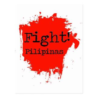 Carte Postale Combat Pilipinas