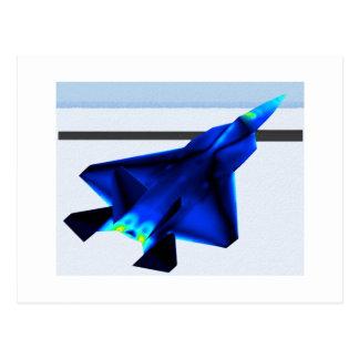 Carte Postale Combattant infrarouge