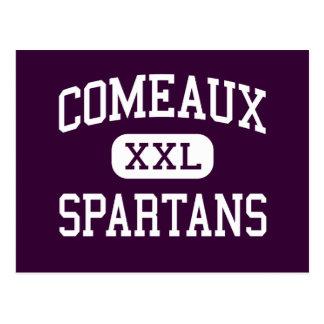 Carte Postale Comeaux - Spartans - hauts - Lafayette Louisiane