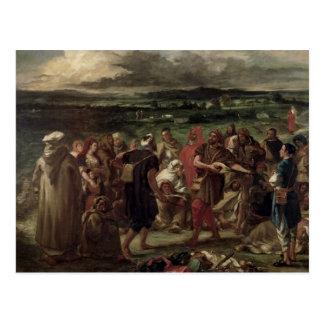 Carte Postale Comédiens ou bouffons arabes, 1848