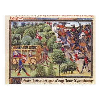 Carte Postale Comment la duchesse d'Aigremont a donné naissance