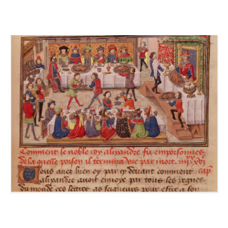 Carte Postale Comment le Roi noble Alexandre a été empoisonné