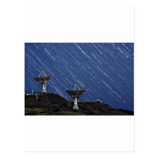 Carte Postale Communications d'étoile