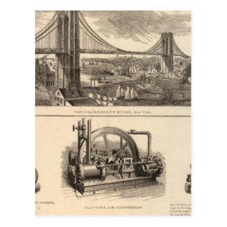 Carte Postale Compagnie d'assurance-vie de Brooklyn