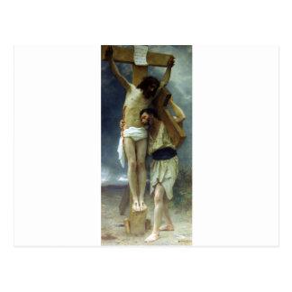 Carte Postale Compassion par William-Adolphe Bouguereau