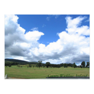 Carte Postale Comté Wicklow, Irlande