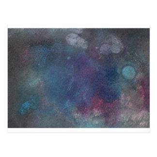 Carte Postale Conception abstraite de la peinture originale