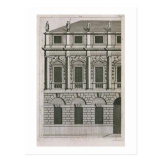 Carte Postale Conception architecturale démontrant le propo de