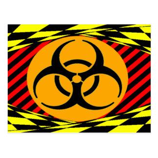 Carte Postale Conception de Biohazard de Kenneth Yoncich