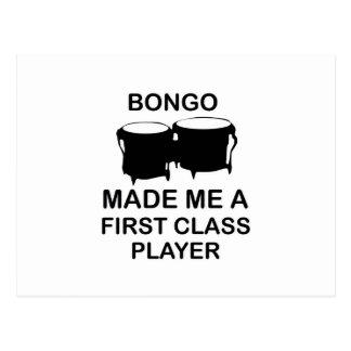 Carte Postale conception de bongo