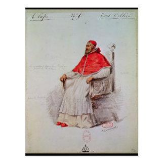 Carte Postale Conception de costume pour le pape Clement VII