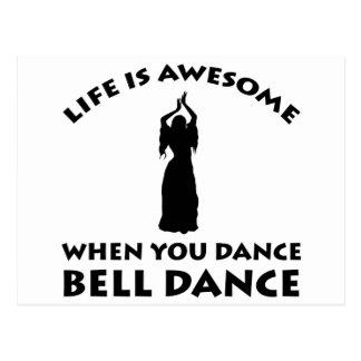 Carte Postale conception de danse du ventre