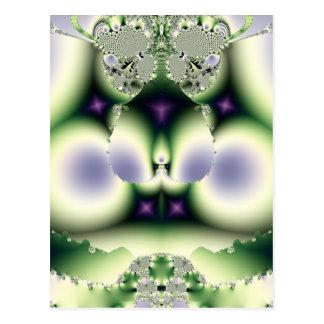 Carte Postale Conception de fractale