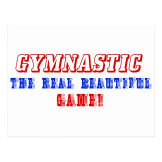 Carte Postale conception de gymnastique