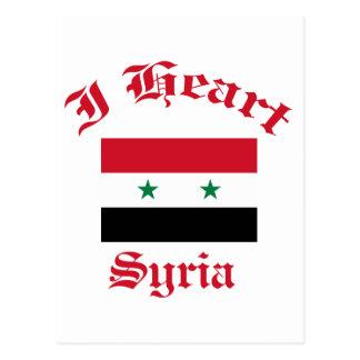 Carte Postale Conception de la Syrie
