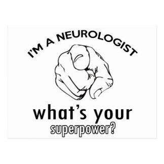 Carte Postale conception de neurologue