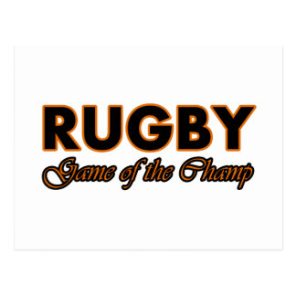 Carte Postale conception de rugby