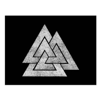 Carte Postale Conception de Valknut Viking