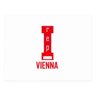 Carte Postale Conception de Vienne
