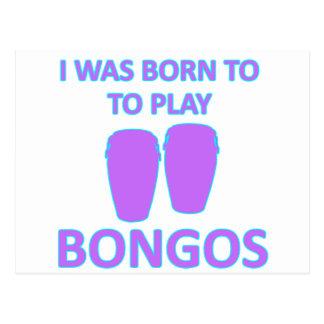 Carte Postale Conceptions de bongos