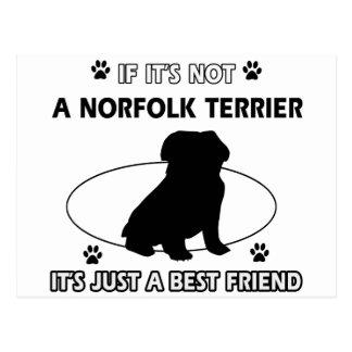 Carte Postale Conceptions de chien de NORFOLK TERRIER