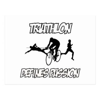 Carte Postale Conceptions de TRIATHLON