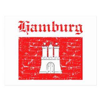 Carte Postale Conceptions de ville de Hambourg