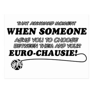 Carte Postale conceptions drôles d'EURO-CHAUSIE