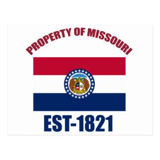 Carte Postale Conceptions du Missouri