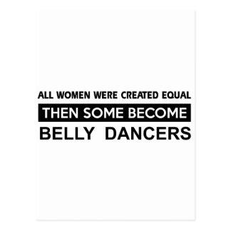 Carte Postale Conceptions fraîches de danse du ventre