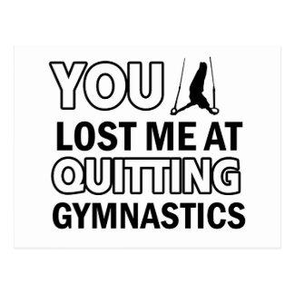 Carte Postale Conceptions fraîches de gymnastique