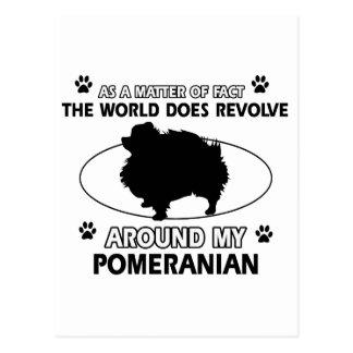Carte Postale conceptions fraîches de POMERANIAN