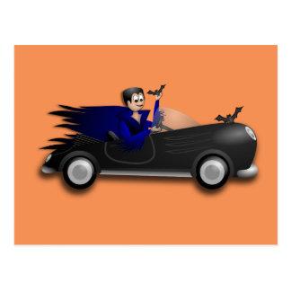 Carte Postale Conceptions mignonnes personnalisables de Dracula