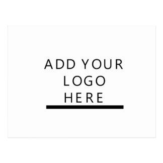 Carte Postale Concevez le logo en fonction du client