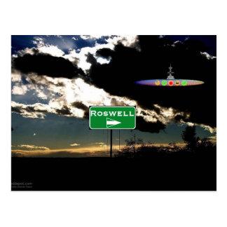 Carte Postale Conclusion de Roswell