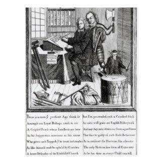 Carte Postale Conjecture à ma signification, 1709