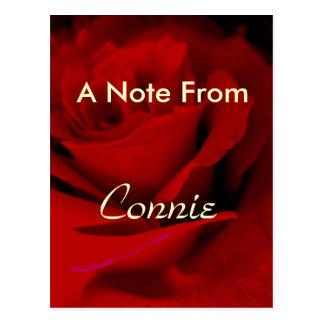 Carte Postale Connie