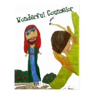 Carte Postale Conseiller merveilleux