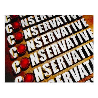Carte Postale Conservateur